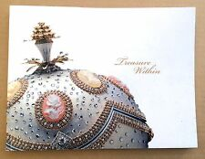 Rare Jewelled Egg Art Book TREASURE WITHIN by Theresa Hwang Faberge Eggs Artist