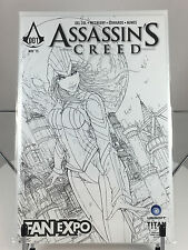 Assassins Creed #1 Fan Expo Con B&W Variant Cover Exclusive Black White LE /400
