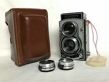 SERVICED & TESTED FLEXARET VI TLR CAMERA CZECH MEOPTA WITH  2X FLEXPAR