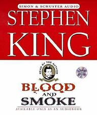 Blood and Smoke by Stephen King (2000, CD, Abridged, Unabridged)