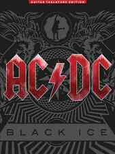 "AC/DC ""BLACK ICE"" GUITAR TAB/VOCAL MUSIC BOOK  BRAND NEW ON SALE ROCK SONGBOOK!!"