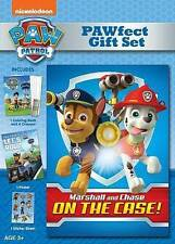 PAW Patrol: Marshall and Chase on the Case! (DVD, 2015, PAWfect Gift Set)