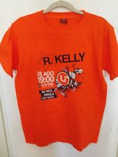 R Kelly Forca Angola T-Shirt XXL August 2010 Natl Basketball Team FIBA World Cup