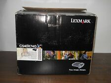 NEW Genuine Lexmark C540X74G Black & Color Imaging Kit C540 C543 C544 X543 OEM