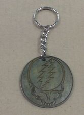 Grateful Dead Crop Metal Steal Your Face Key Chain Keychain