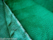 SAMPLE 3 X 6 Vintage Upholstery Fabric Solid Green NOS 56W 50s 60s 70s?  Perfect