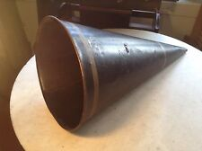Early Antique Edison Columbia Cylinder Phonograph Cone Shaped Horn