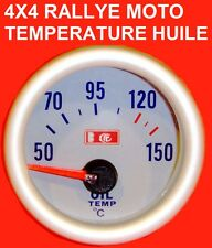 MANOMETRE TEMPERATURE HUILE MONTAGE 5mn GTI RS STI WRX WILLIAMS CUPRA ABARTH FR