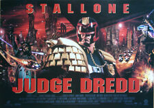 Original 1995 UK Mini Quad Stallone Judge Dredd