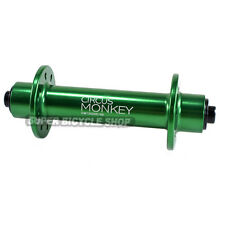 Circus Monkey HRW Road Front Hub,24 Hole, Green