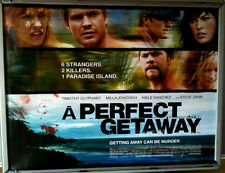 Cinema Poster: A PERFECT GETAWAY 2009 (Quad) Milla Jovovich Timothy Olyphant