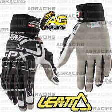 Leatt GPX 5.5 Windblock Black White Gloves Adult Small SM S Motocross Enduro ATV