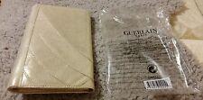 GUERLAIN Clutch / Cosmetics Bag in Gold, Brand NEW! 100% Genuine!! Textile