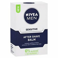 Nivea Men Aftershave Balm Sensitive with 0% Alcohol -100 ML FREE SHIPPING