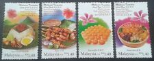 Malaysia 2014 Local Food K.Lumpur - Hong Kong Joint Issue ~ Mint