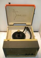 Phonola 1460 Tube Multi-Channel ~ Stereo 4 Speed Record Player