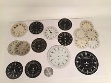 Lot of 18 Military Ship's Dials - Chelsea, Seth Thomas, M. Low