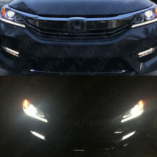 High Low Beam Switchback Signal Headlight LED Bulbs For 2016 2017 Accord Civic