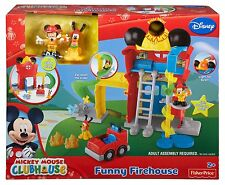 DISNEY-MICKEY MOUSE CLUBHOUSE-DIVERTENTE firehouse - 2 + anni-Fisher Price