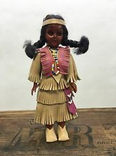 Native American Doll-Missouri Princess by Carlson Dolls, #B-1000-4-with papoose