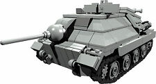 CUSTOM building INSTRUCTION WW2 HETZER tank to build out of LEGO® parts