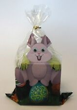 Easter bunny printed cellophane sweet/chocolate treat goody bags *25 pack*