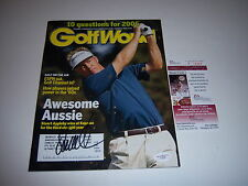 STUART APPLEBY AWESOME AUSSIE GOLF PRO JSACOA SIGNED GOLF MAGAZINE