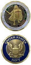 NEW U.S. Navy - Put On the Whole Armor of God Challenge Coin. 2545 Free Shipping