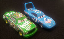 Disney Pixar Cars The King Strip Weathers & Chick Hicks 1/55 Diecast No Box
