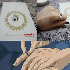 Japan Anime Howl's Moving Castle Hauru Ring Cosplay Handmade Free Shipping