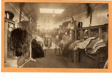 Real Photo Postcard RPPC Mannequin in Women's Clothing Store Fur Coats M L Photo