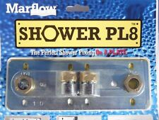PL8 Shower Valve Wall Mounting Plate | Great For Bar Showers