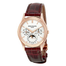 Patek Philippe Grand Complications Silver Dial 18kt Rose Gold Mens Watch