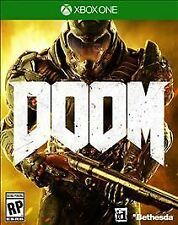 Doom for Xbox 1 (Microsoft Xbox One, 2016) Game Disc Only Tested
