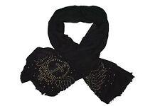 Foulard AILES,clous,noir,punk,rock,gothique,wings scarf,alas bufanda #LA13230