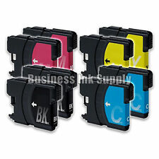 8 Pack NEW LC61 Ink Cartridges for brother printer LC61BK LC61C LC61M LC61Y LC61