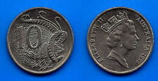 Australia 10 Cents 1993 Animal Queen Cent Coin Free Shipping Worldwide Paypal