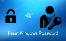Windows Password Recovery, Reset & Remove CD for Windows XP, VISTA, 7, 8 & 10