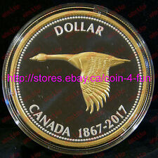 2017 Canada 150 Big Coin Series Alex Colville Design #1 Goose Pure Silver Dollar