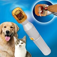Pet Dog Cat Nail Trimmer Grooming Tool Care Grinder Electric Clipper Kit Bundle