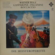 "WIENER BLUT - GASPARONE - PAGANINI - BOCCACCIO - MÜLLER-LAMPERTZ   12"" LP (N458)"