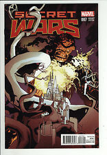 Secret Wars (2015) #7 Tomm Coker 1 in 25 Classic Variant Cover First Print NM