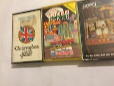 3 x ZX SPECTRUM 48K TAPE GAMES LAS VEGAS VIDEO POKER + FIVE DICE + JACKPOT