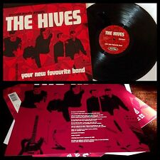 THE HIVES~Your New Favorite Band LP/insert~punk international noise conspiracy