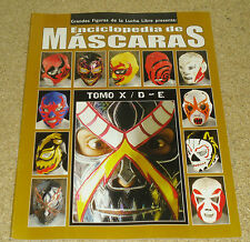 Enciclopedia De Mascaras Tomo X Lucha Libre Wrestling Mask Encyclopedia