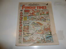 THE FUNDAY TIMES - No 172 - Date 10/12/1992 - Free Sunday Time Comic Supplement