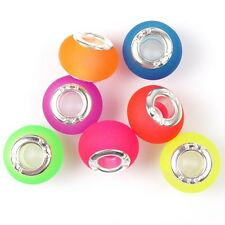 245pcs Mix Mehrfarbig Acryl Beads Lichtdurchlässig European Perlen 152922
