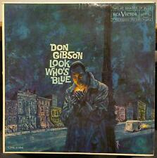 DON GIBSON look who's blue LP Mint- LPM-2184 Vinyl 1960 Mono USA 1s/1s RCA