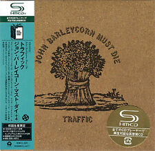 TRAFFIC JOHN BARLEYCORN MUST DIE CD MINI LP OBI
