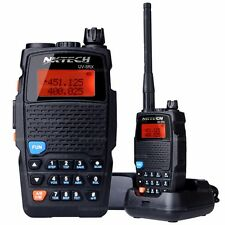 NKTECH UV-5RX VHF UHF 3200mAh Battery 5W Transceiver Two-Way Radio Walkie Talkie